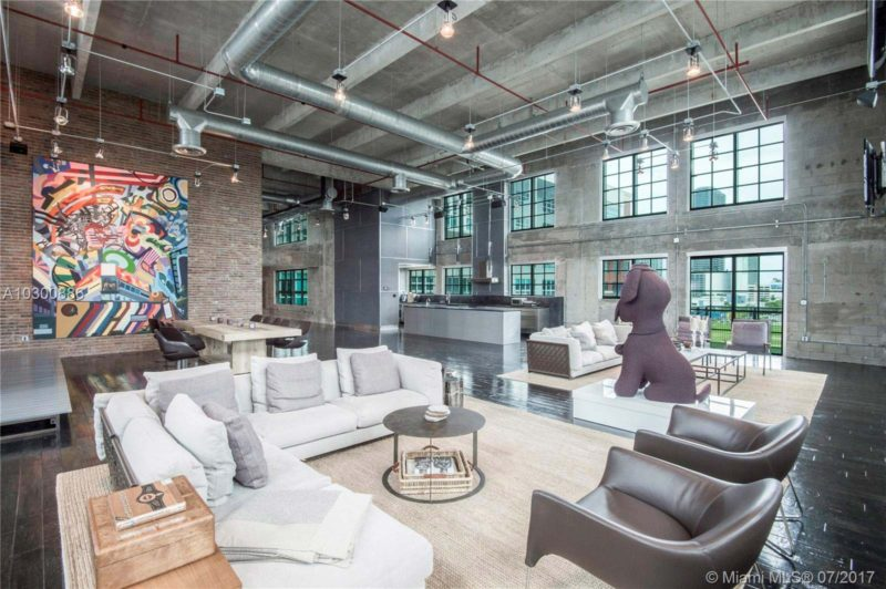 Gigantesque loft de 660 m² à Miami