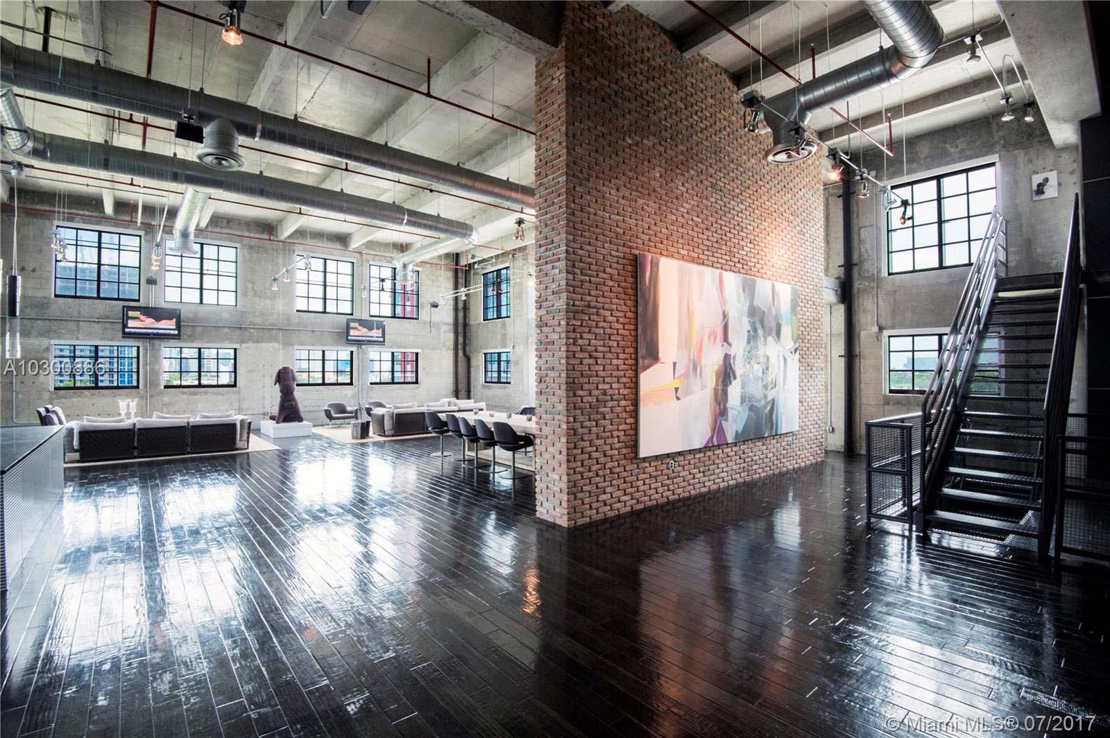 Gigantesque loft de 660 m² à Miami