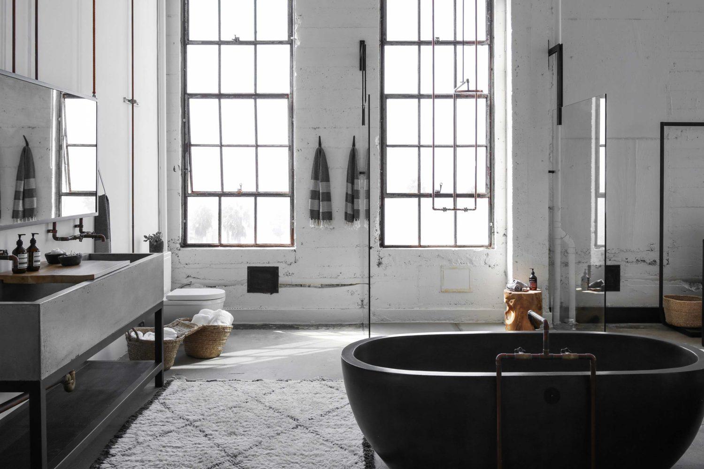 20 meubles industriels pour la salle de bains