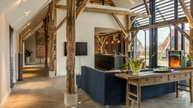 Ancienne ferme transformée en loft