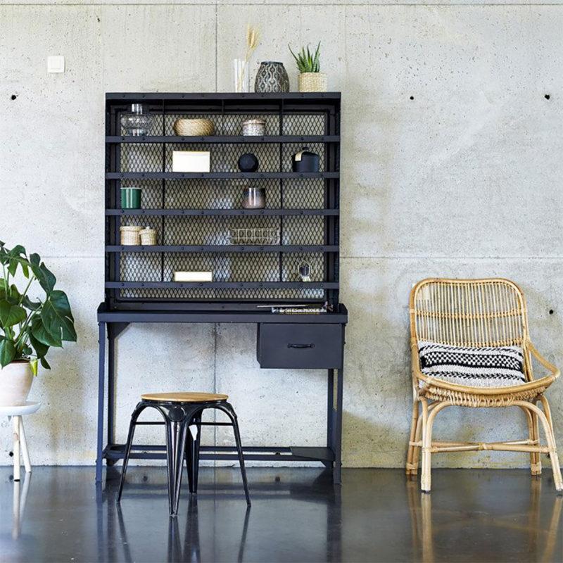 Bureau industriel : 14 idées déco en bois et métal