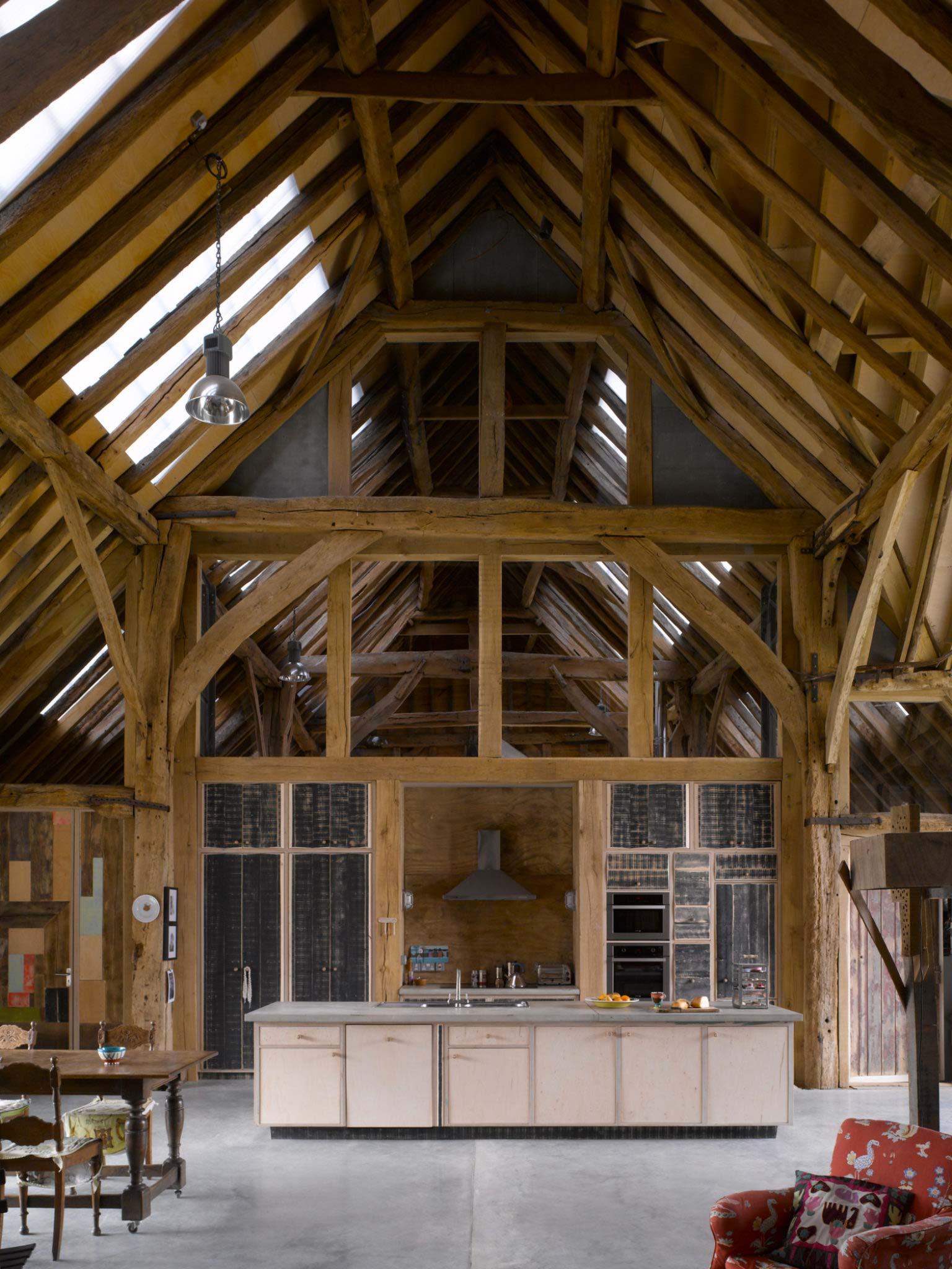 Une grange classée transformée en loft