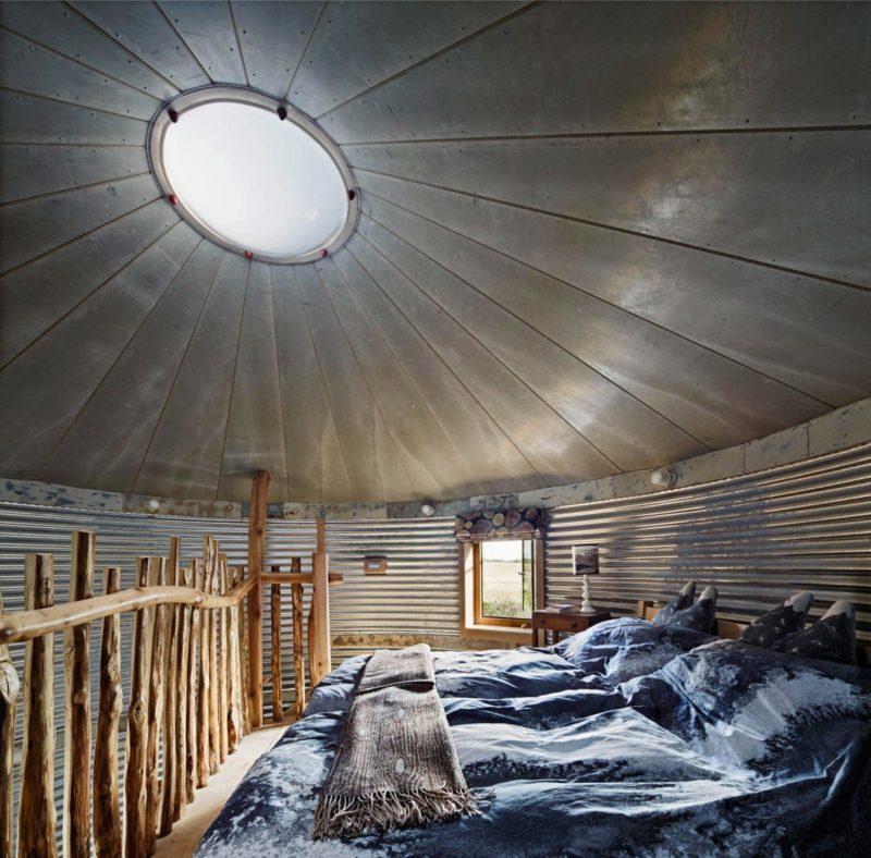 Loft dans un silo à grain