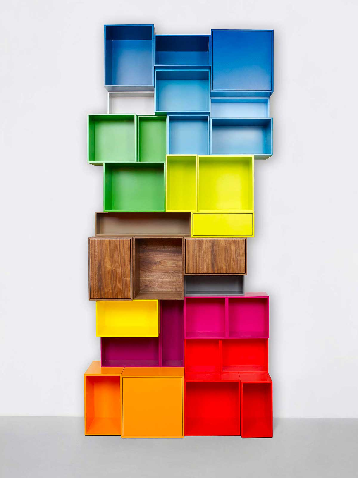 Bibliothèque colorée