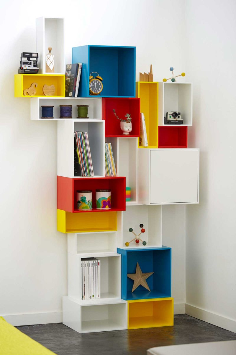 Etagere Cube 36 Bibliotheques Creees Avec Des Modules