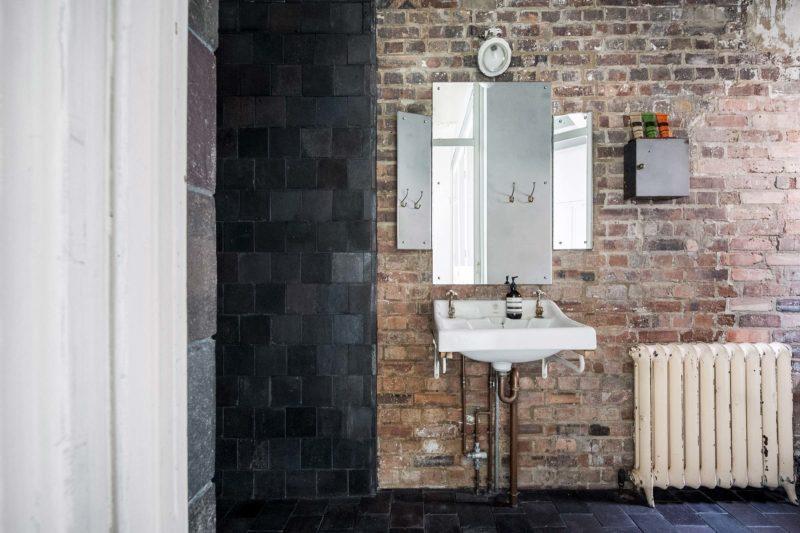 Salle de bains industrielles