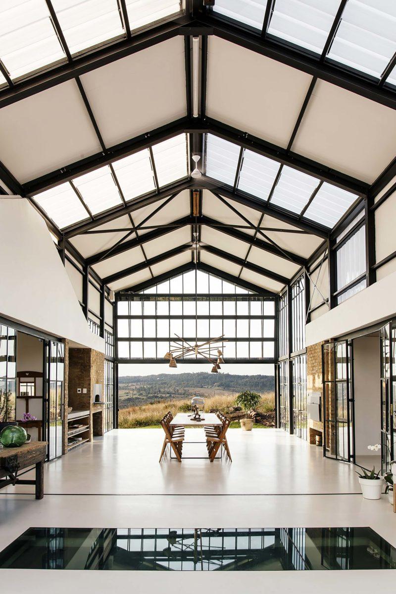 Maison d'architecte esprit loft
