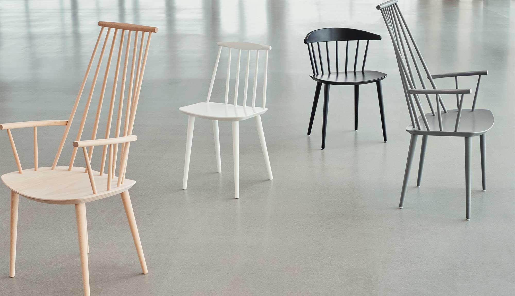 Chaise scandinave : 17 modèles en bois pour salle à manger