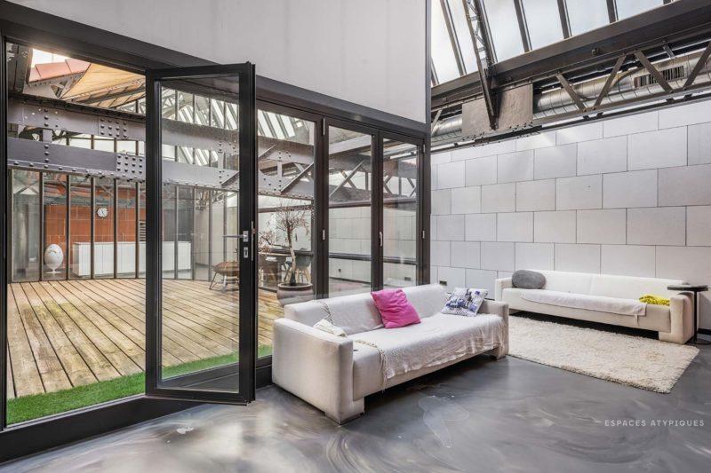 Loft industriel à Lyon