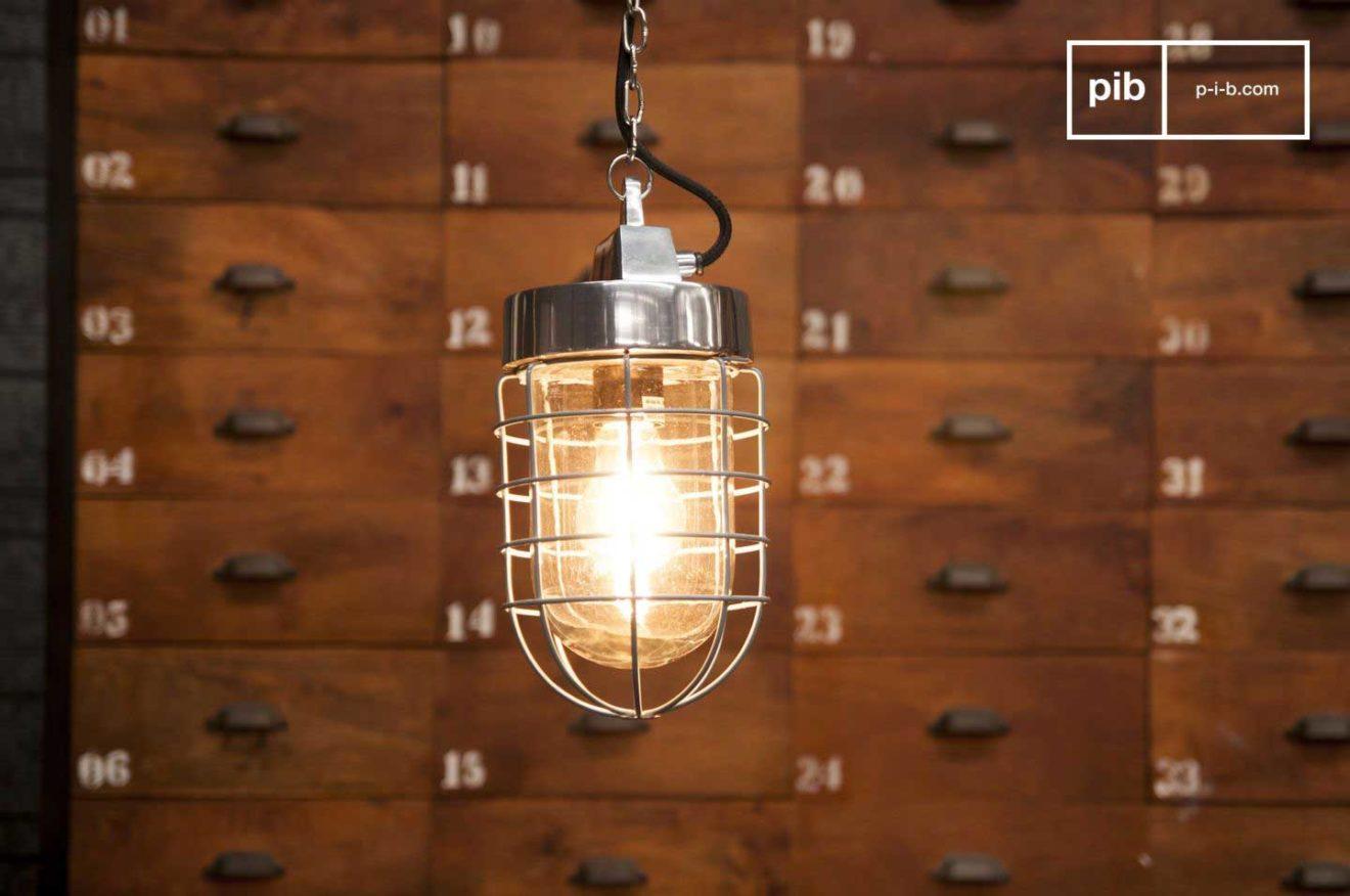 suspension industrielle  24 luminaires esprit loft