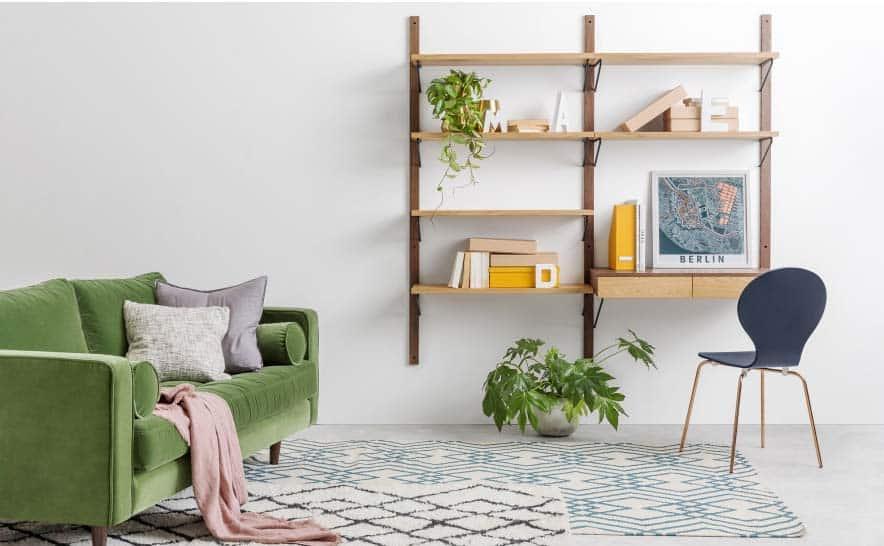 Bureau bibliothèque : 19 meubles pour ranger et travailler