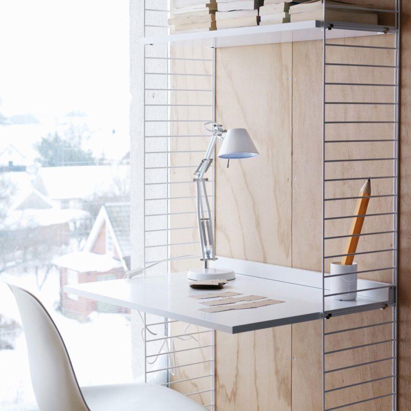 Bureau étagère réglable en hauteur