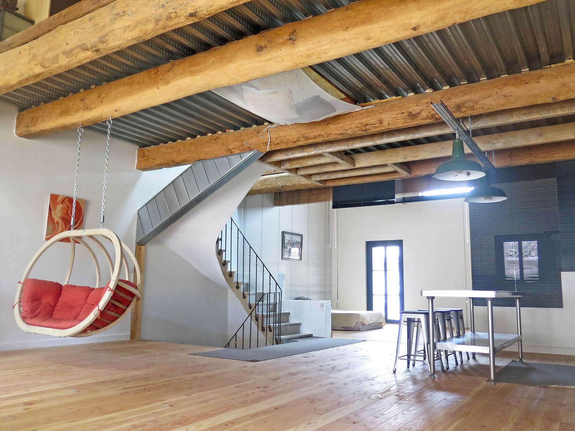 La maison loft de Solenn dans l'Hérault