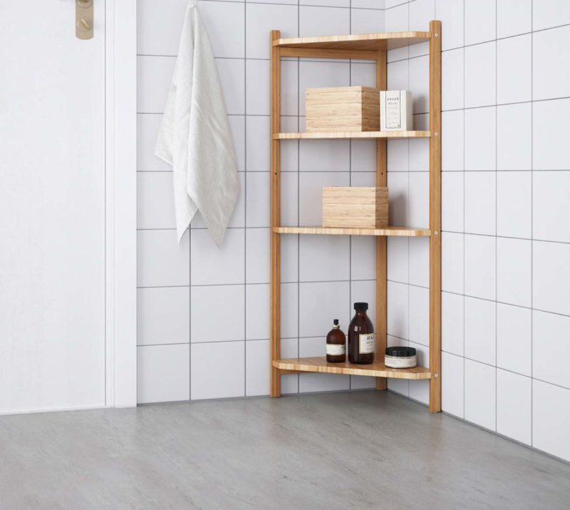 Étegère d'angle Ikea