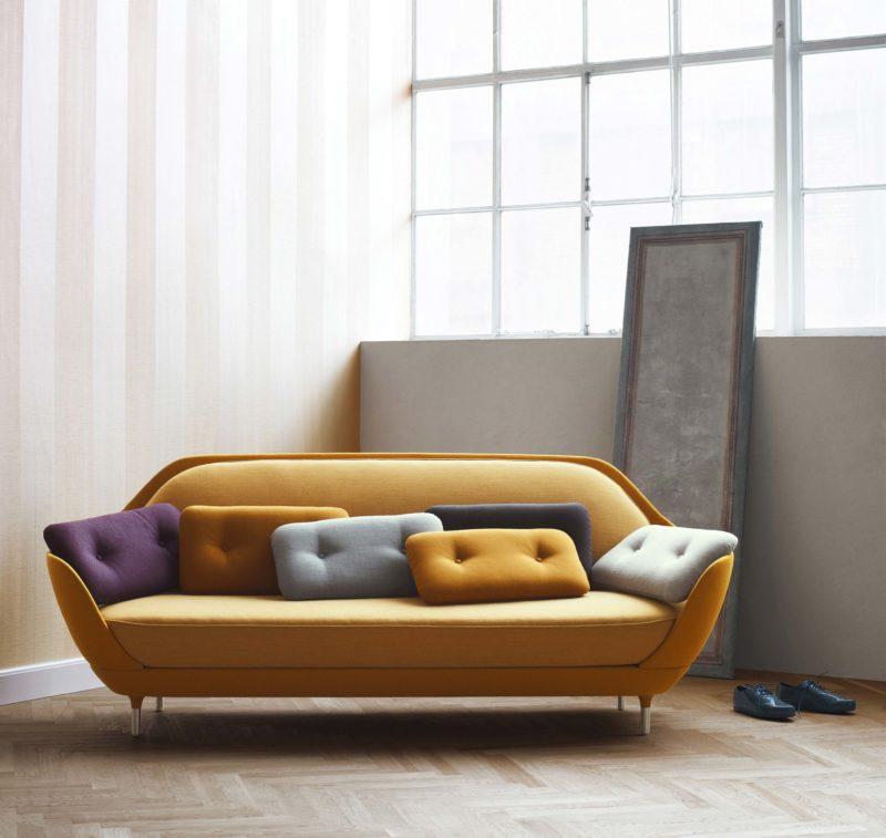 Canapé scandinave au design moderne