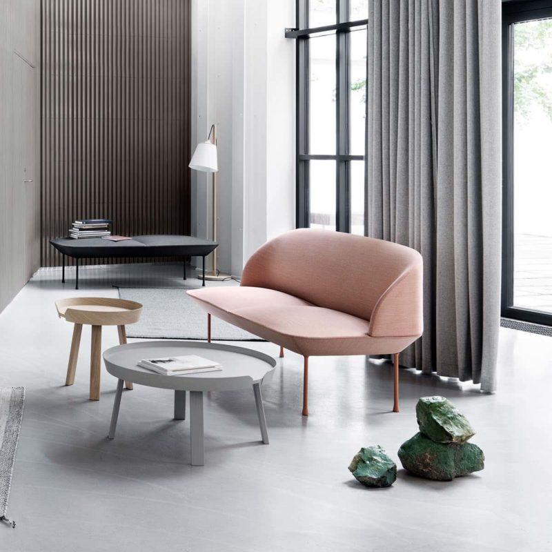 Canapé scandinave au design épuré