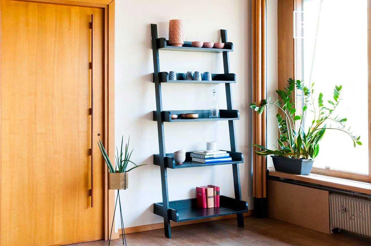 Étagère échelle : 13 modèles en bois
