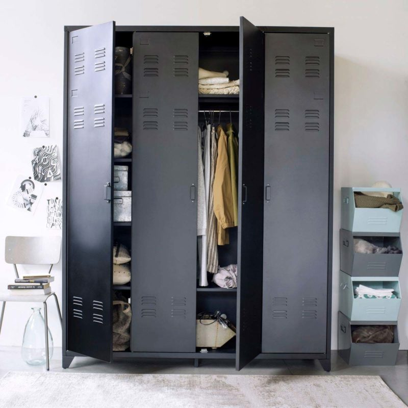 Dressing vestiaire industriel en metal