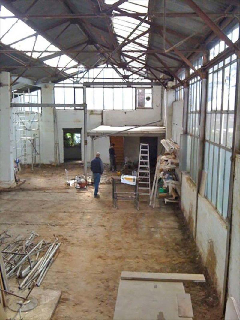 Loft ancien atelier londres avant travaux