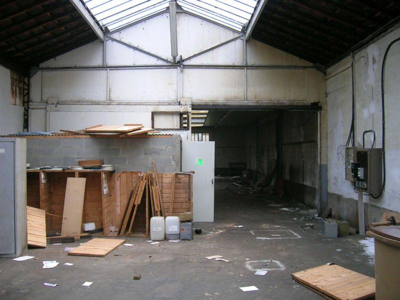 Loft avant travaux colombes