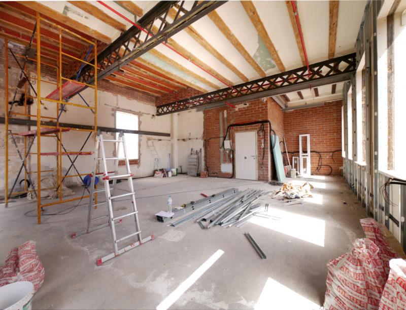 Loft barcelone meta studio avant travaux