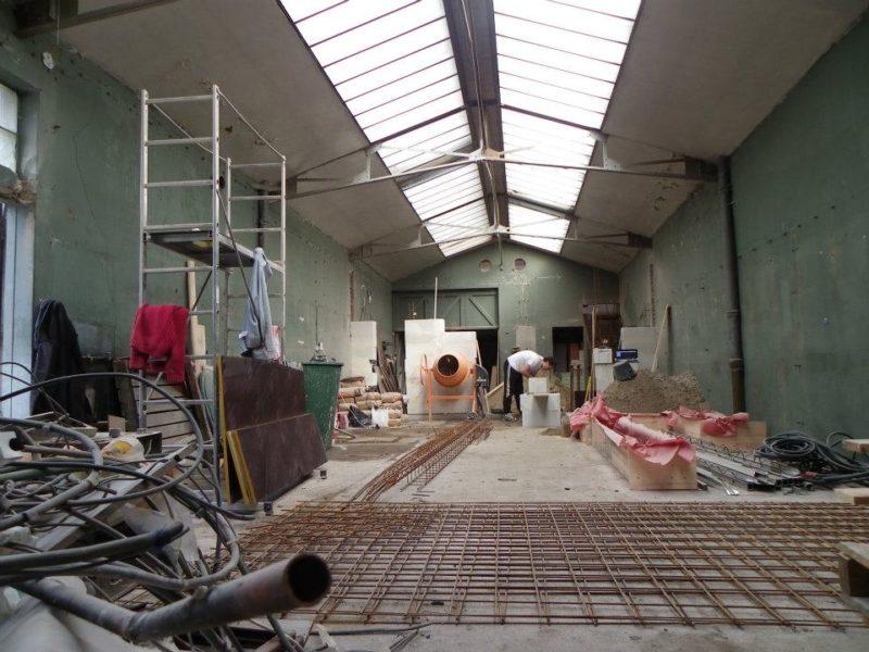 Loft industriel roubaix avant travaux