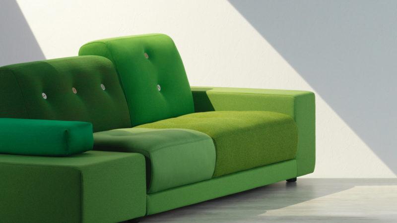 Canapé design vert