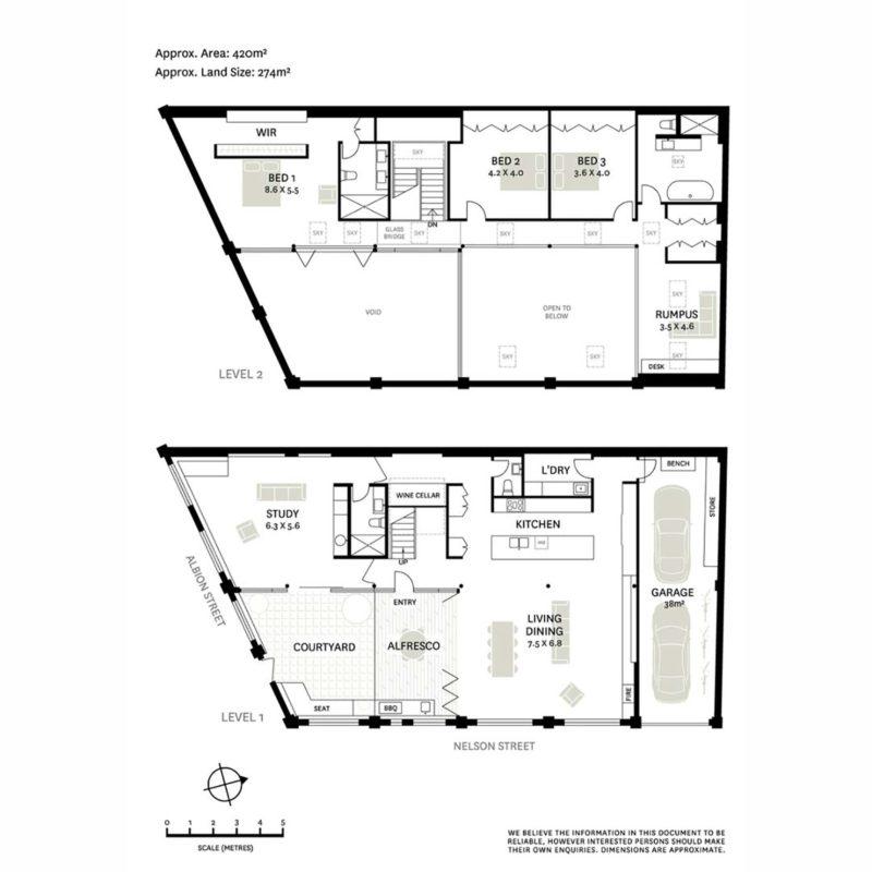 Les plans du loft