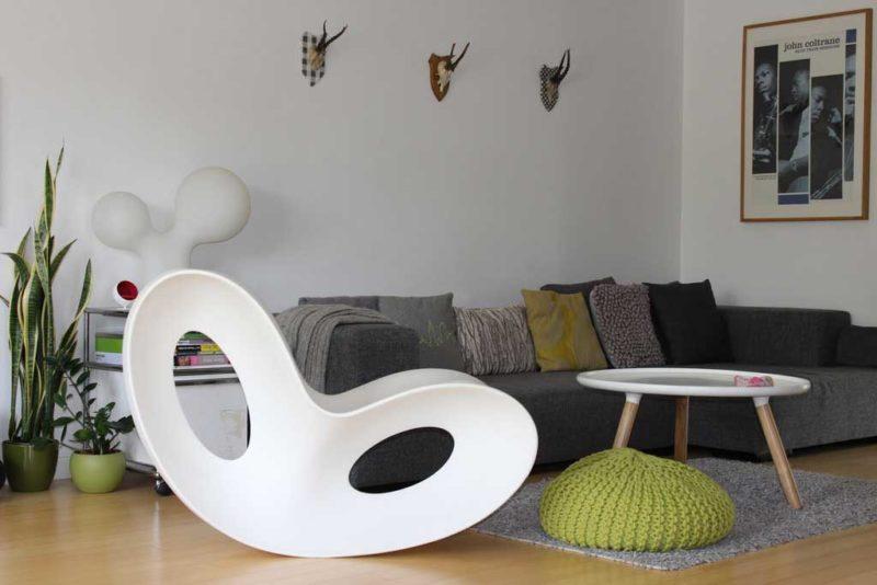 Rocking chair au design original