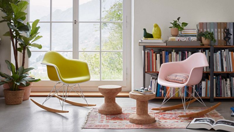 Rocking chair Eames RAR
