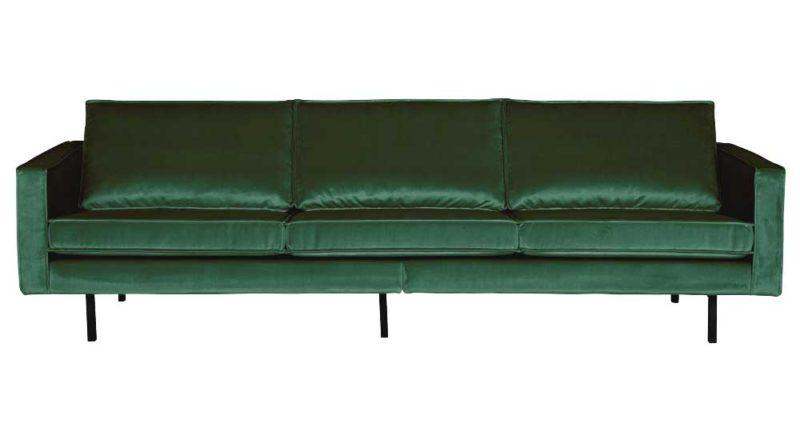 Canapé vert 4 places