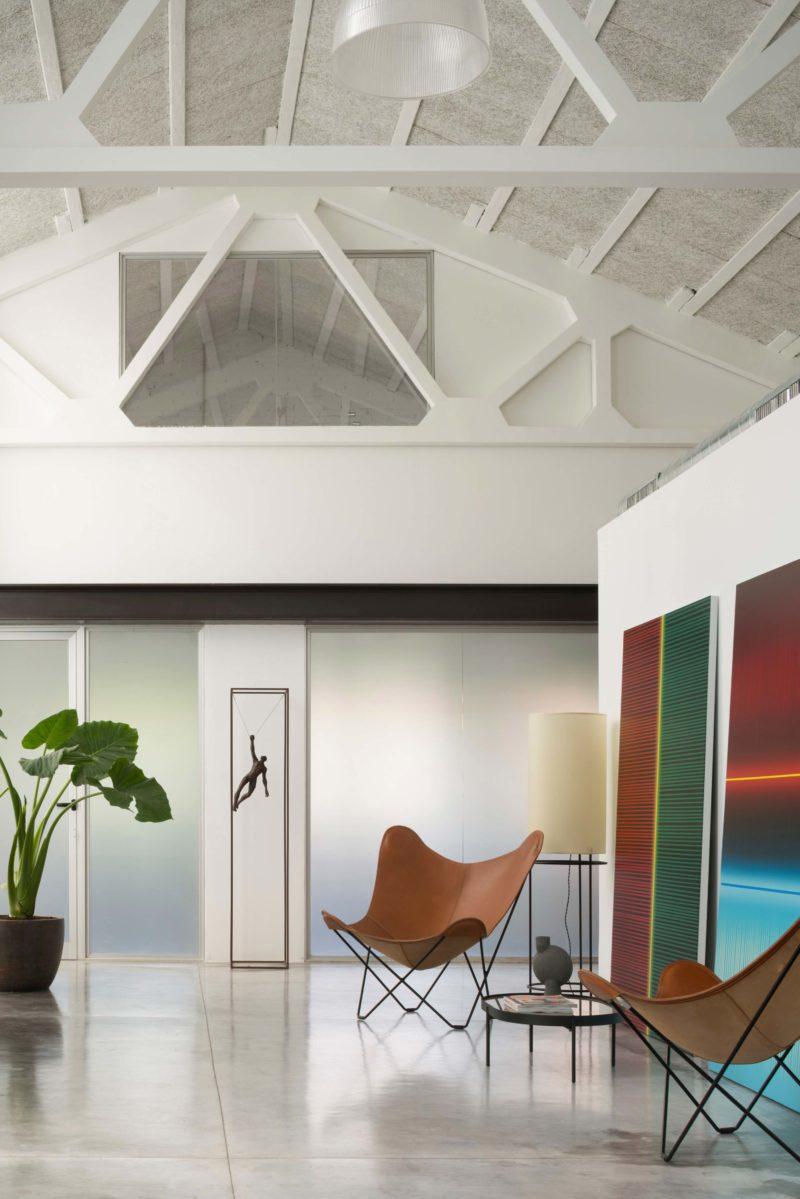 Loft avec mezzanine vitrée