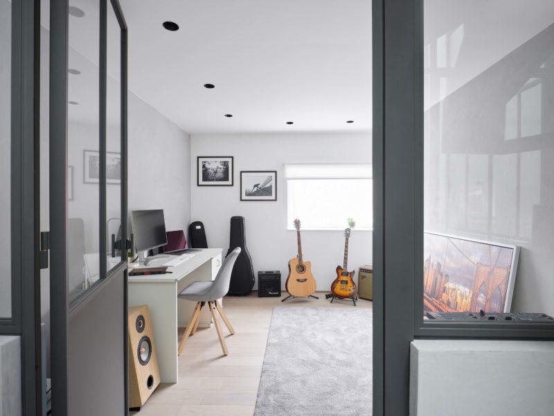 Bureau et salle de musique