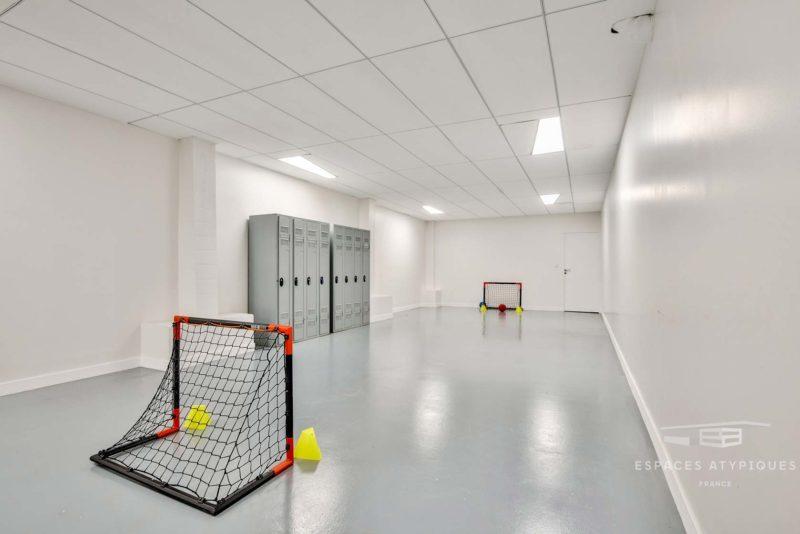 Salle de mini-foot dans le loft