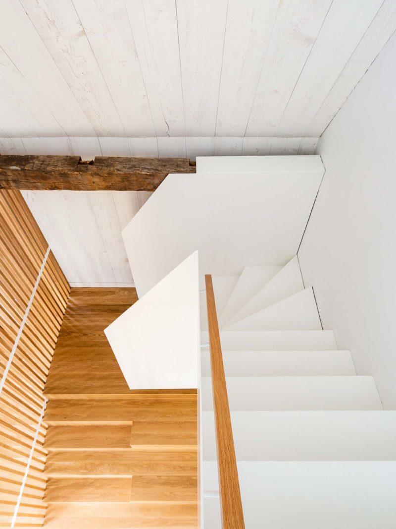 Escalier au design moderne