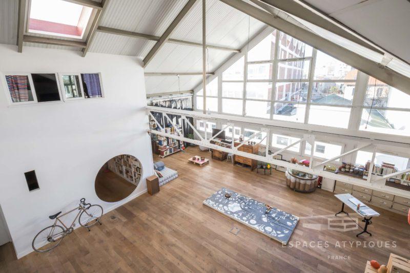 Grand loft à Montreuil