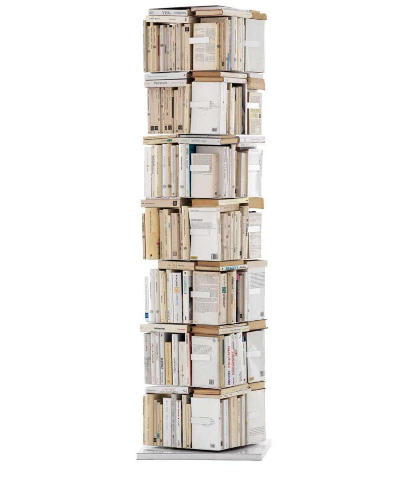 Bibliothèque colonne rotative originale