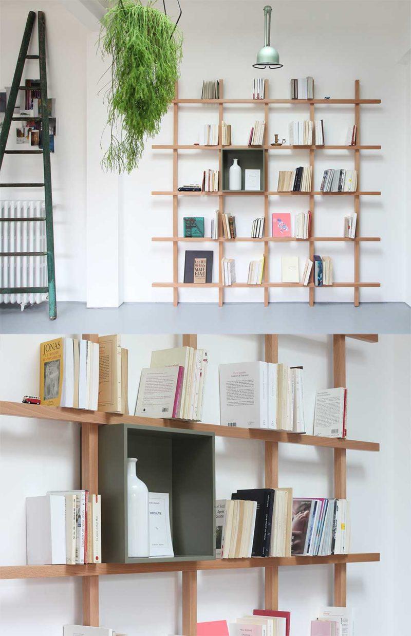 Bibliothèque tasseau