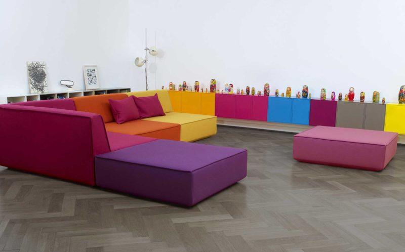 Canapé modulable d'angle