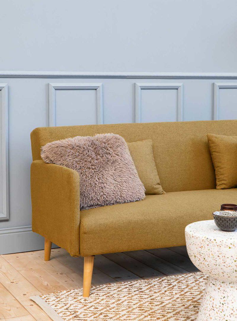 Canapé scandinave qui se transforme en lit