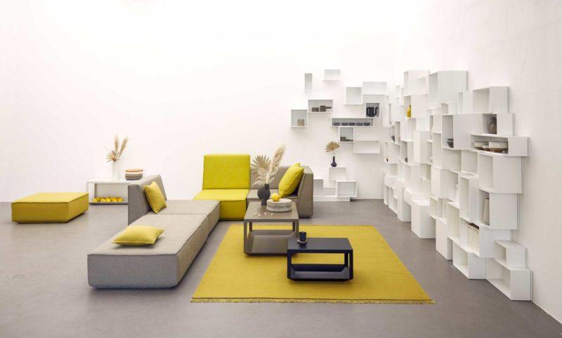 Grand canapé modulable
