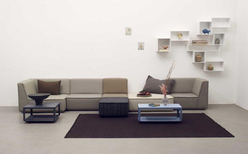 Grand canapé modulable en longueur