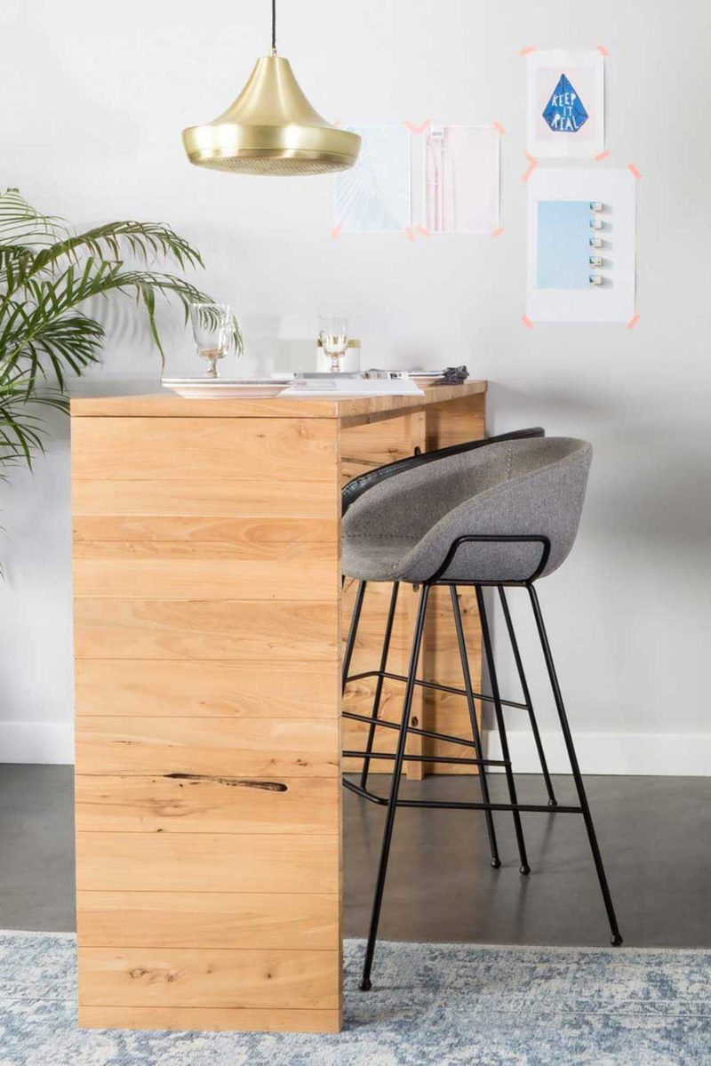 Tabouret de bar au design confortable