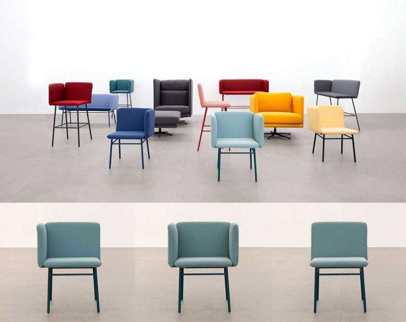 Chaise modulable au design original