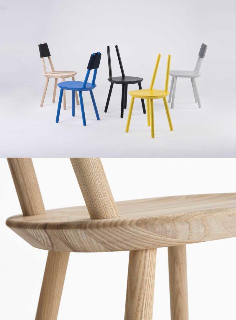 Chaise originale en bois par EMKO