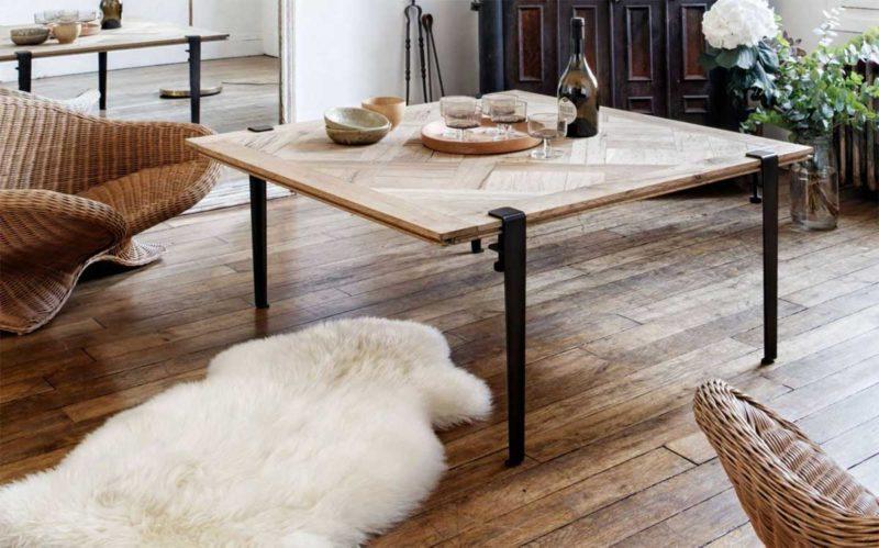 Pieds pour table basse industrielle