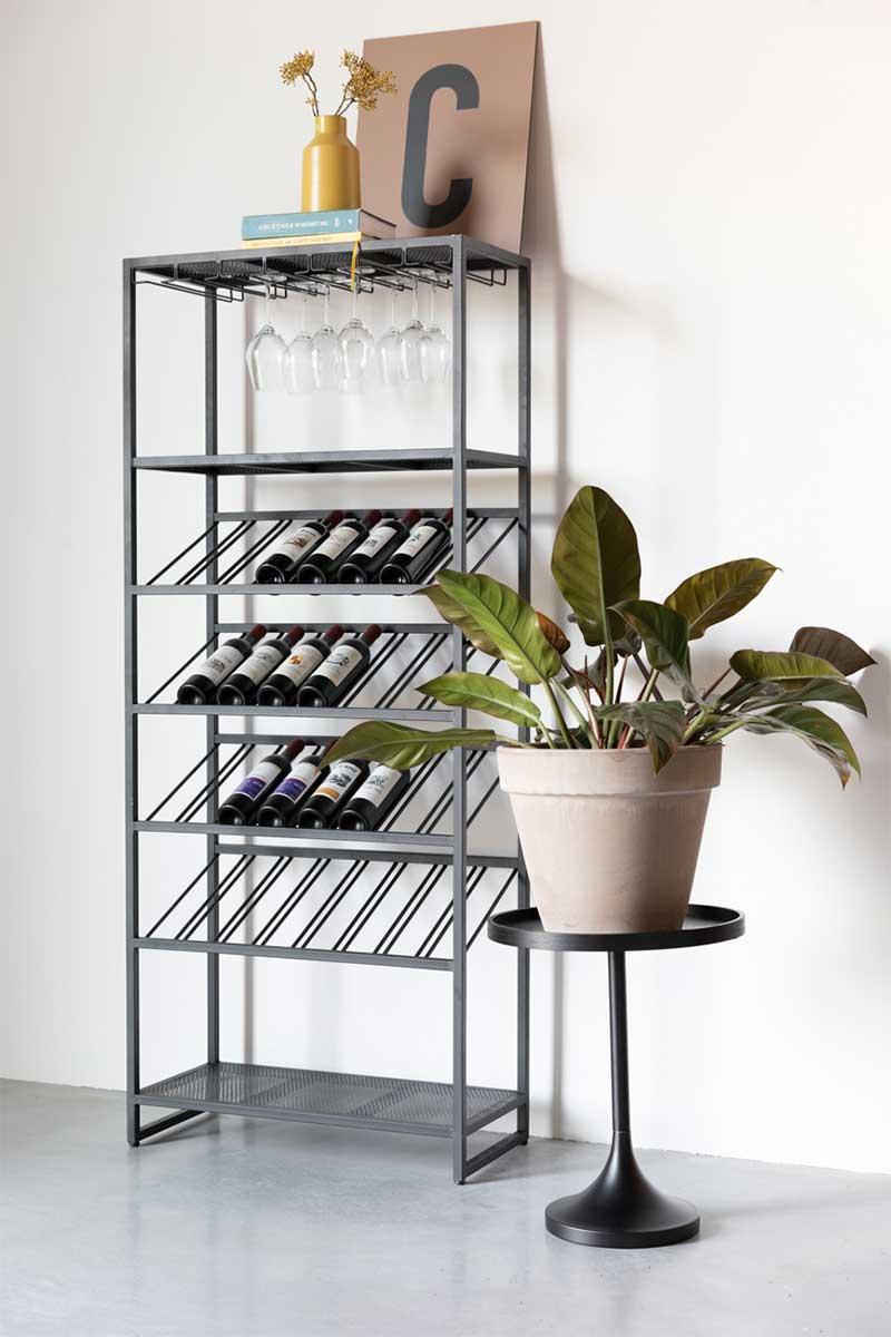 Rangement bouteille de vin : 16 meubles pour le salon