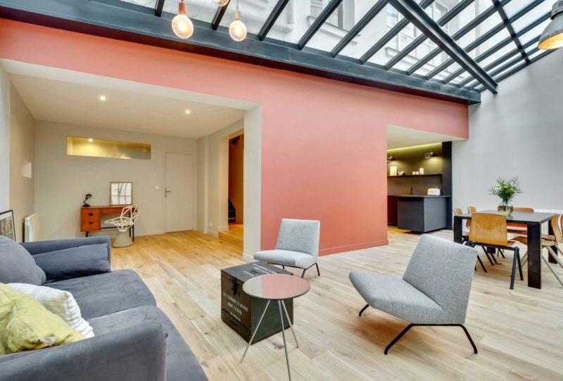 Rénovation d'un atelier en loft à Paris