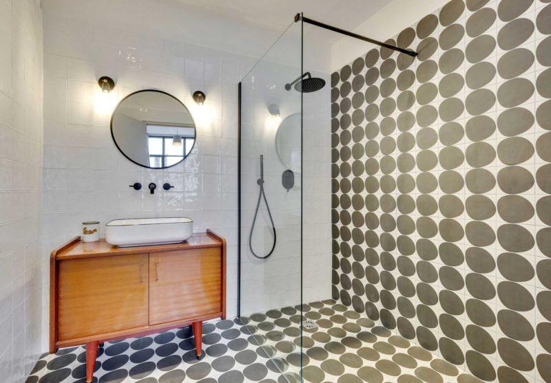 Salle de bains style vintage