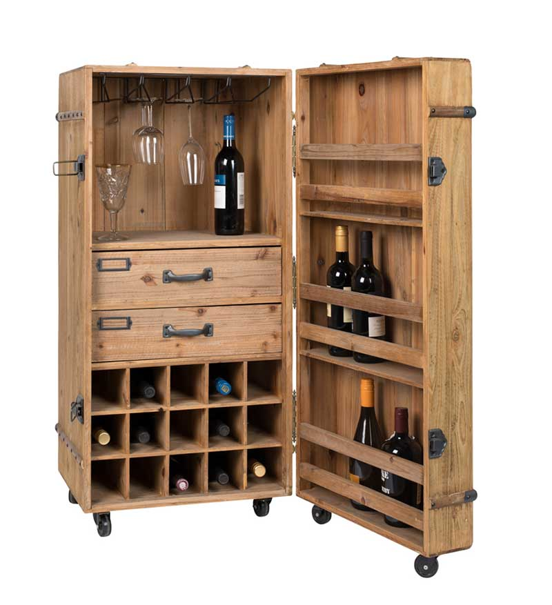 Meuble pour ranger des bouteilles de vin